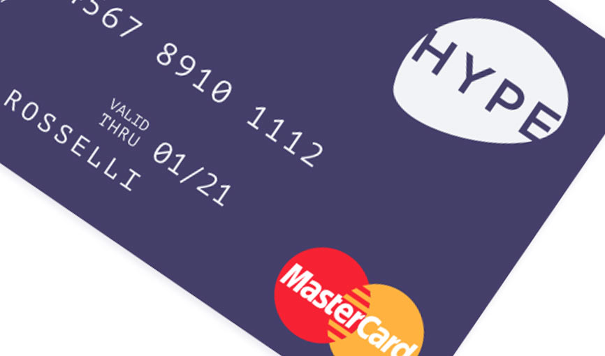 carta prepagata HYPE gratuita mastercard